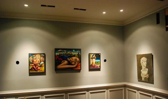 recessed-lighting-for-art-gallery