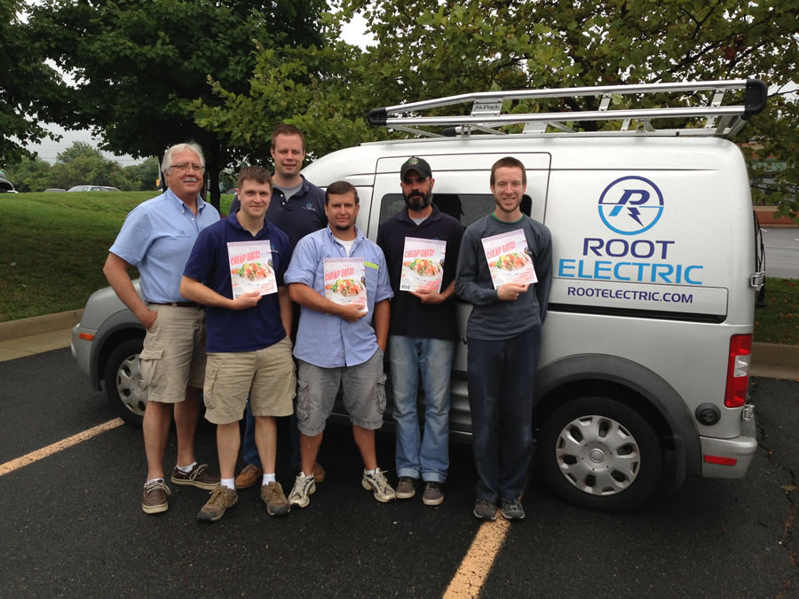 Root Electric Team Earns Trusted Contractors Spot in Washingtonian